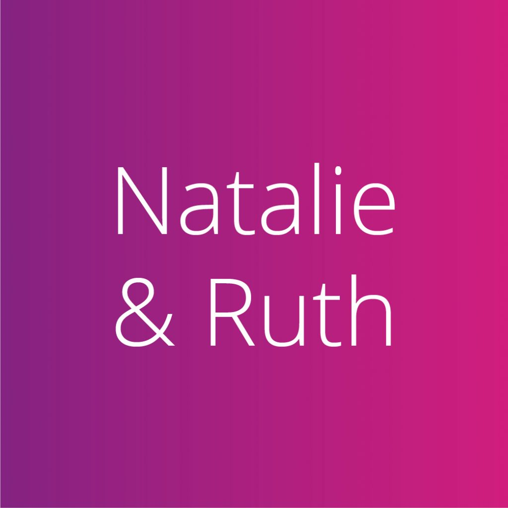 Natalie and Ruth
